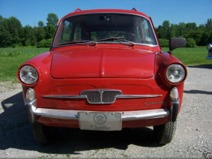 1965 fiat wagon restored